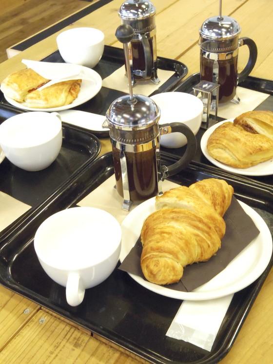 ZEBRA Coffee & Croissantのクロワッサン
