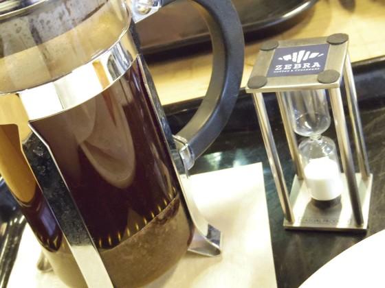 ZEBRA Coffee & Croissantのコーヒー